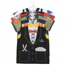 6 Piece Set B, One Size Fits Most Ages 3-6