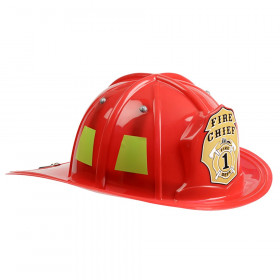 Red Firefighter Helmet