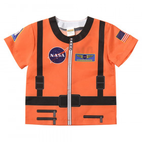My 1st Career Gear Orange Astronaut Top, One Size Fits Most, 18-36 Months