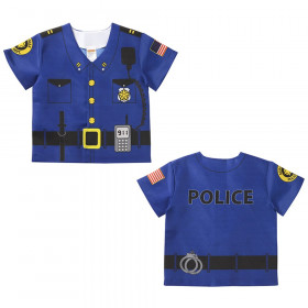 My 1st Career Gear Police Top, One Size Fits 18 Months - 36 Months