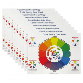 Crystal Student Color Wheel, Desk Reference Edition, Pack of 10