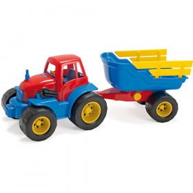 Dantoy Tractor And Trailer