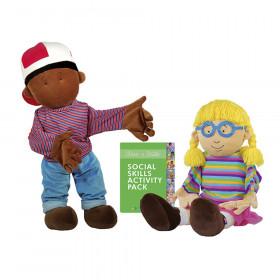 Social Skills Puppets, Max & Millie