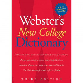 Websters New College Dictionary 3Rd Edition