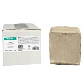 Air Dry Clay, Gray, 25 lbs.
