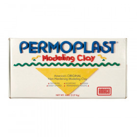 Permoplast Modeling Clay, Green, 1 lb.