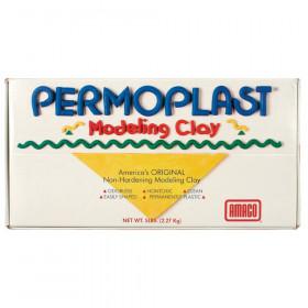 Permoplast Modeling Clay, Cream, 1 lb.