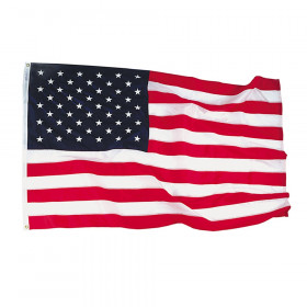Nyl-Glo Colorfast Outdoor U.S. Flags, 4' x 6'