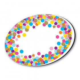 Whiteboard Eraser Confetti Oval Magnetic