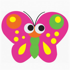 Magnetic Whiteboard Eraser, Butterfly