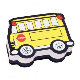Magnetic Whiteboard Eraser, School Bus