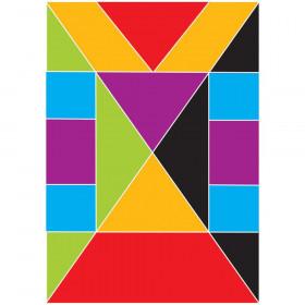 Math Die-Cut Magnets, Tangrams