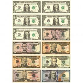 Math Die-Cut Magnets, U.S. Dollars