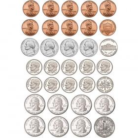 Math Die-Cut Magnets, U.S. Coins