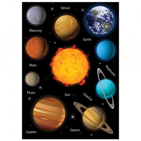 Science Die-Cut Magnets, Solar System