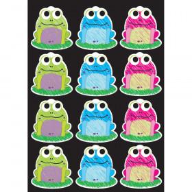 Die-Cut Magnet Scribble Frogs