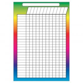 "Magnetic Incentive Rainbow Chart, 8.5"" x 11"""