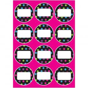Die-Cut Magnetic Color Dot Circles, 12 Pieces
