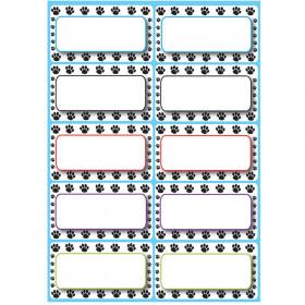Die Cut Magnets Black Paw Nameplates