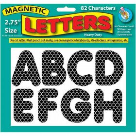 2 3/4In Moroccan Designer Magnetic Letters