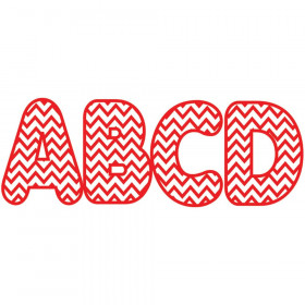 Red Chevron 2-3/4 In Designer Magnetic Letters