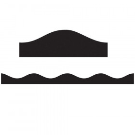 Magnetic Border, Black, 12'