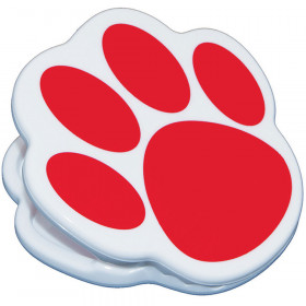 Magnet Clips Red Paw