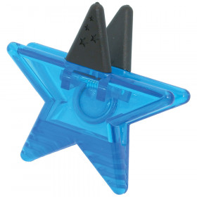 Magnetic Blue Star Clip