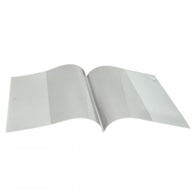 """Smart Poly Clear Book Cover, 8-1/2"""" x 11"""""""
