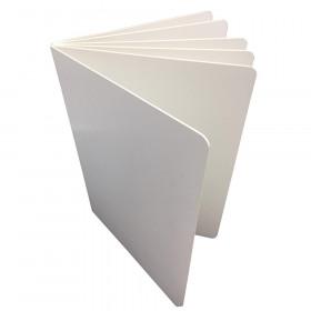 "Blank Chunky Board Book, 6"" x 8"" Portrait, White"