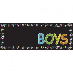 Laminated Hall Pass Chalk Boys Pass