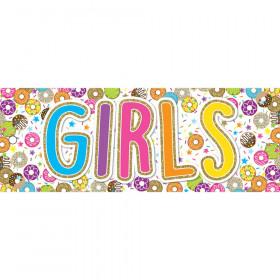 Laminated Hall Pass, DonutFetti Girls Pass