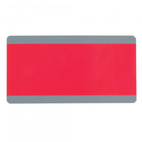 """Big Reading Guide, 3.75"""" x 7.25"""", Red"""