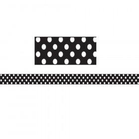 Magnetic Magi-Strips, White Dots, 12'