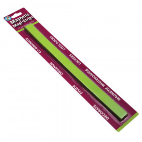 Magnetic Magi-Strips, Lime Green, 12'