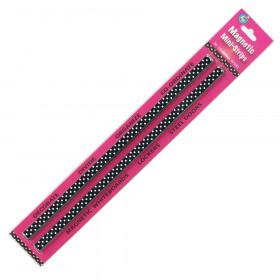 Mini Magnetic Magi-Strips, B/W Dots, 24'