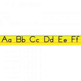 Magnetic Manuscript Alphabet Lines Small