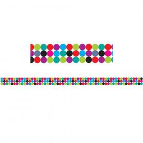Big Magnetic Magi-Strips, Color Dots, 12'