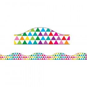 Color Triangles Big Magnetic Border
