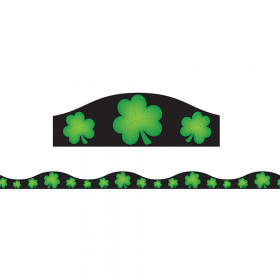 Magnetic Border Shamrocks 1.5 W Seasonal