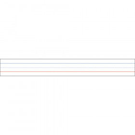 """Big Magnetic Sentence Strips, 3"""" x 24"""", Pack of 5"""