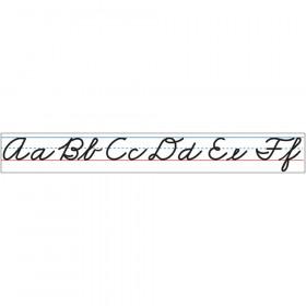 Large Magnetic Cursive Alphabet Line, 10'
