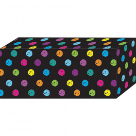 """Block Magnets, Heavy Strength, 1-7/8"""" x 7/8"""" x 3/8"""", Chalk Colorful Dots, Pack of 5"""