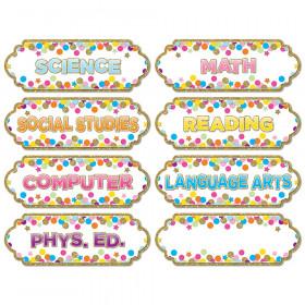Magnetic Confetti Classroom Subj