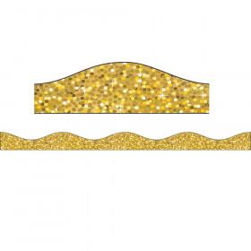 Magnetic Border Gold Sparkle