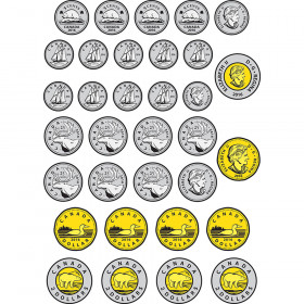 Money Foam Manipulatives Can Coins