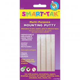 Smart Tak Mounting Putty, 2 oz., 10 Packs
