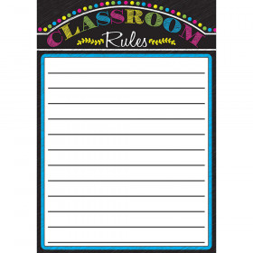Magnetic Classroom Charts Rules Paper