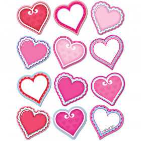 Diecut Magnets Valentine Hearts