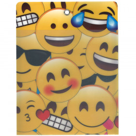 Smart Poly Folder Emojis 10X13